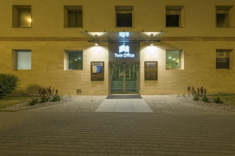 Twin Office wejście
